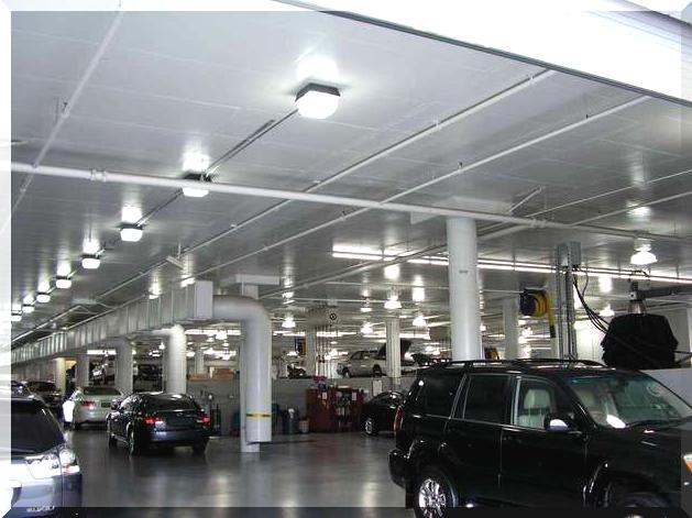 Индукционные потолочные светильники